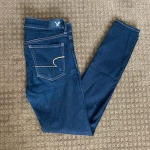 America Eagle Super Jegging Skinny Jeans